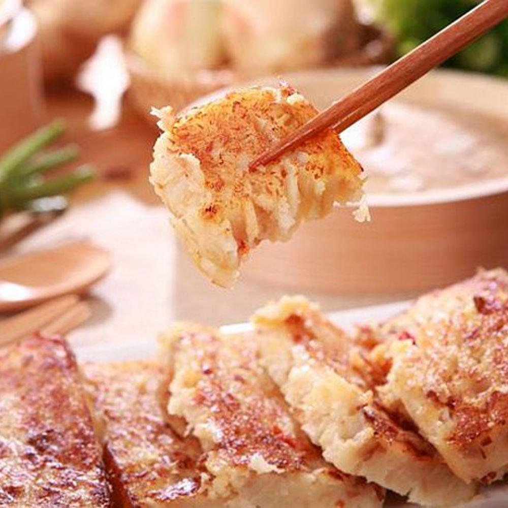 【中山招待所】3入頂級干貝蝦醬蘿蔔糕 (1000g±5%/入)