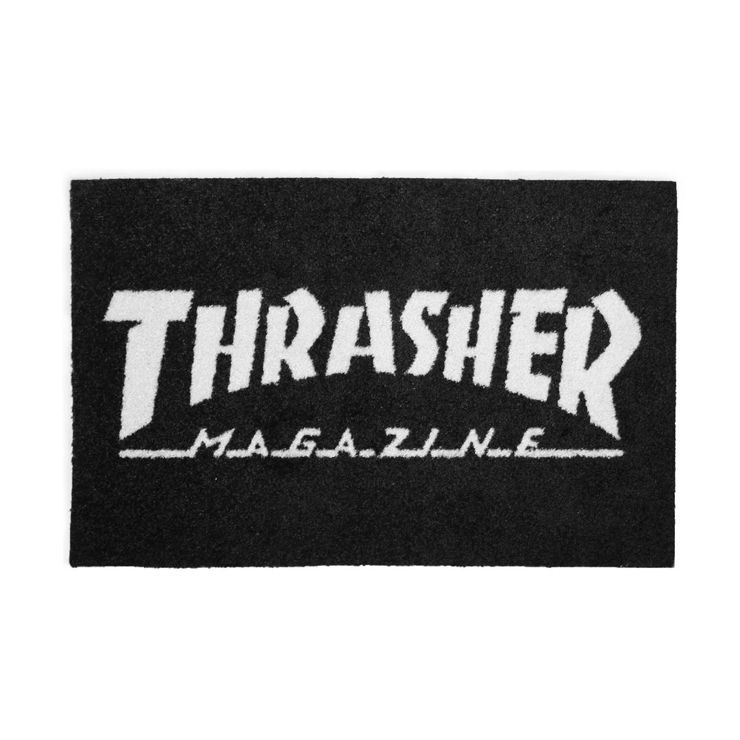 THRASHER JAPAN LICENSED HOMETOWN RUG 地毯 黑色