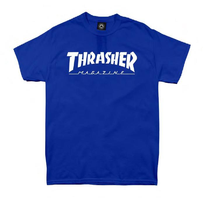 THRASHER JAPAN LICENSED HOMETOWN T-Shirt 短TEE 藍色
