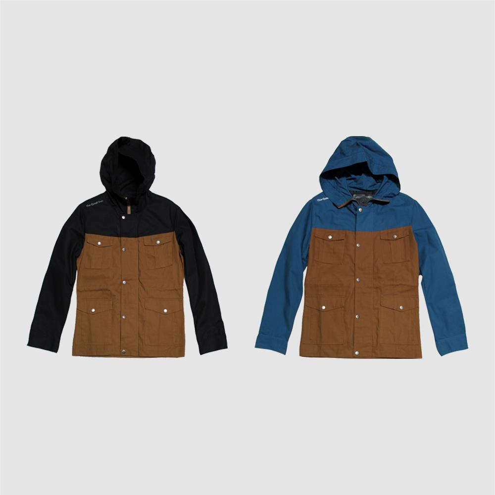 【QUEST】DOUBLE COLOR M65 JACKET 雙色防風外套