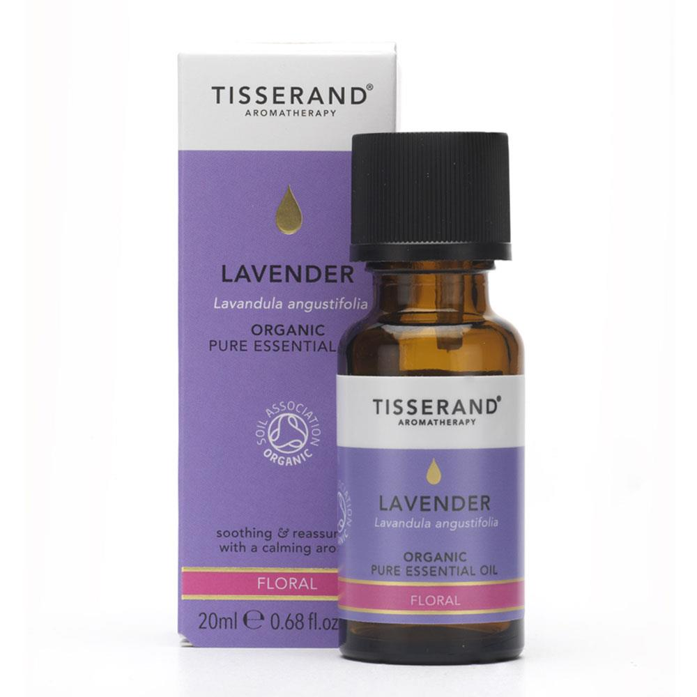 【薰衣草 20ML(有機)單方純精油】LAVENDER ORGANIC PURE ESSENTIAL OIL