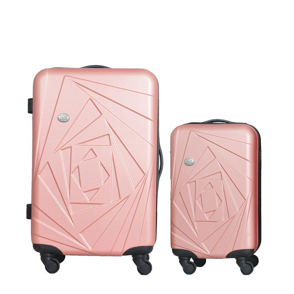 Mon Bagage 巴黎風情系列ABS輕硬殼 28寸 20寸 兩件組 旅行箱 行李箱
