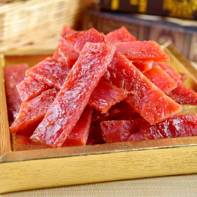 【快車肉乾】A9 傳統蜜汁豬肉乾_1