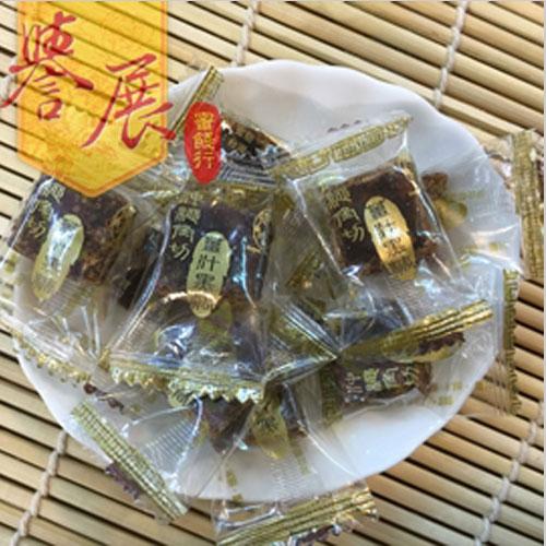 【譽展蜜餞】沖繩角切薑汁黑糖 300g/100元