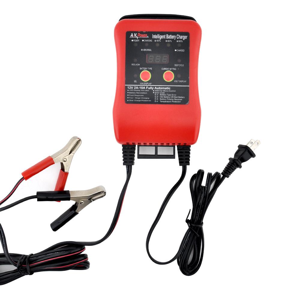 A&V Power 12V電池充電器
