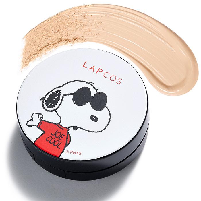 【限時加贈】韓國LAPCOS 零油感持妝霧面氣墊粉餅SPF50+/PA+++ 史奴比限定版/兩色可選【RKLA026C】