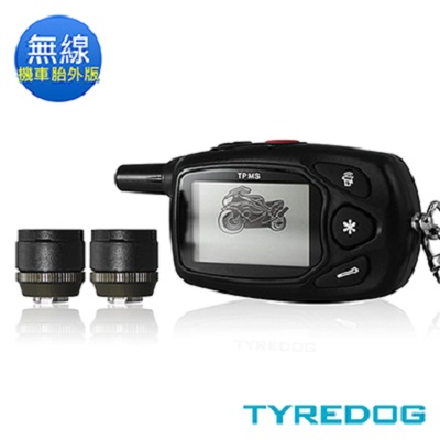 TYREDOG 胎外式機車版無線胎壓偵測器 TD-4000