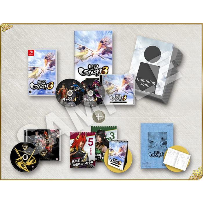 【預購PS4】無雙 OROCHI 蛇魔 3 寶箱版《中文版》—2018.9.27上市