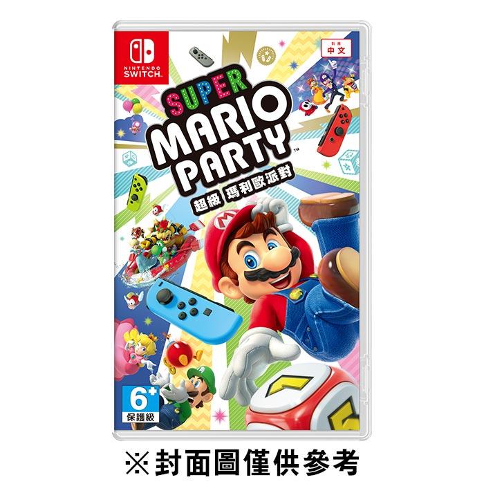 【NS】超級瑪利歐派對《中文版》 - 普雷伊