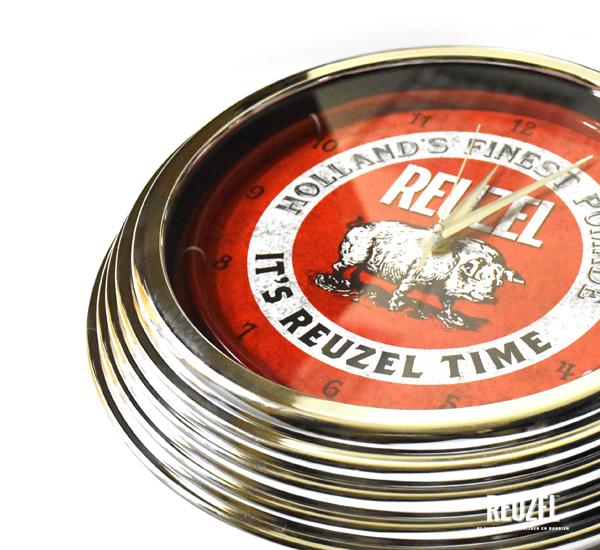 Reuzel Time Neon Diner Clock美式餐廳復古霓虹時鐘 特價NT$1,680