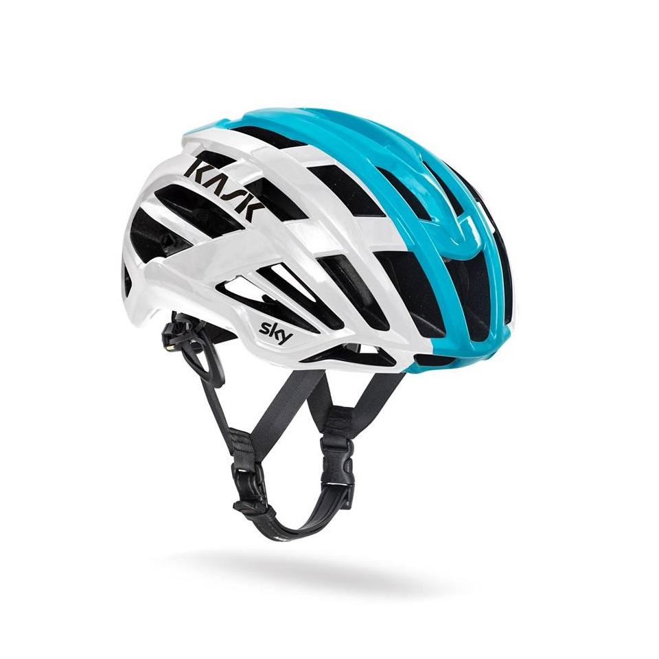 義大利 KASK VALEGRO 【TEAM SKY特仕版/白亮藍】公路車帽 公路車/單車/自行車/直排輪/安全帽