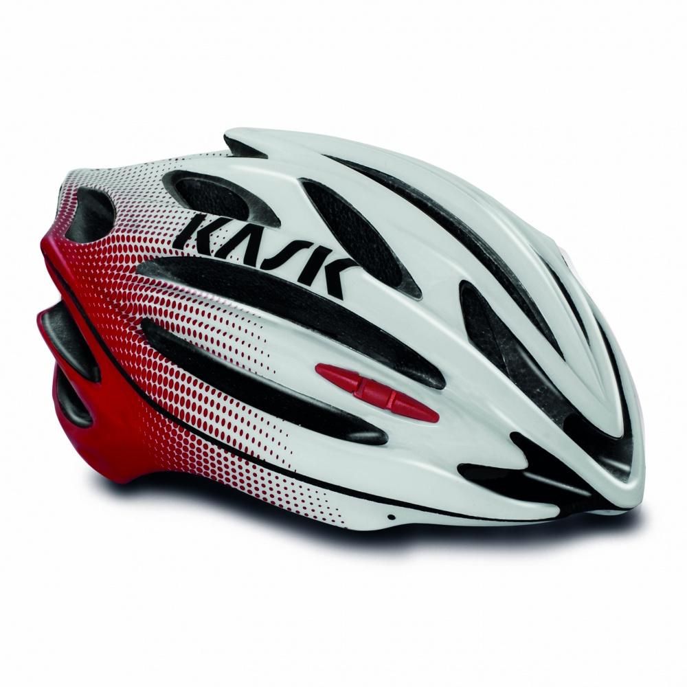 義大利 KASK 50NTA 公路車帽 [白紅] 公路車/單車/自行車/直排輪/安全帽