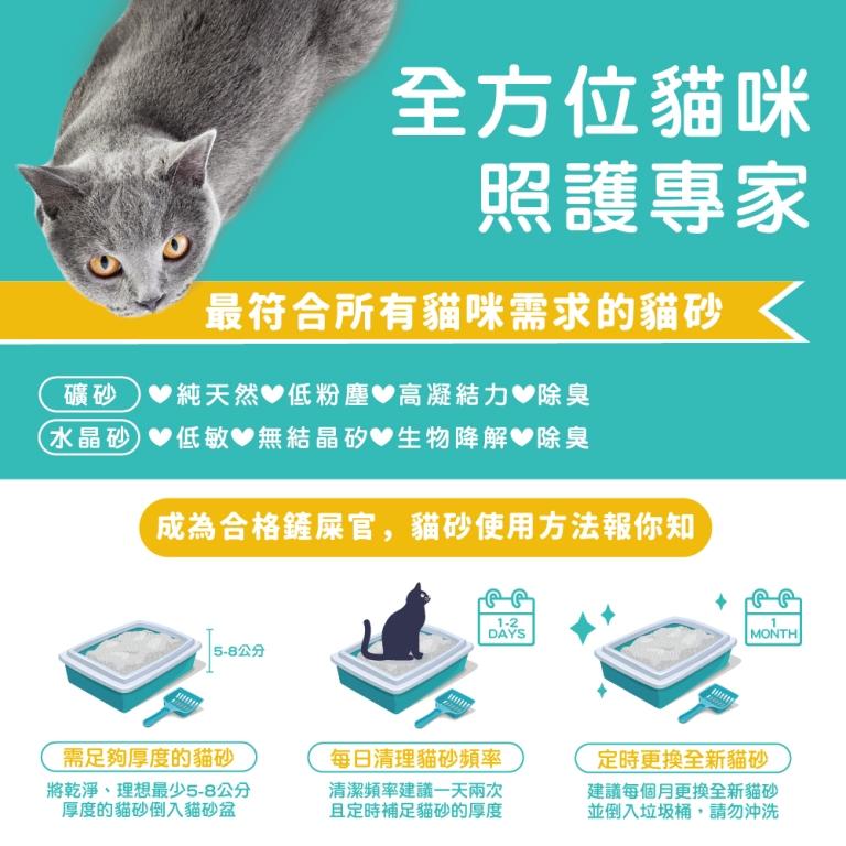 DR.ELSEY'S貓艾歐|熱銷貓砂18磅(多款可選)